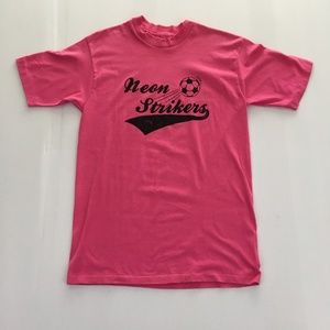 Vintage Neon Strikers Graphic Tee